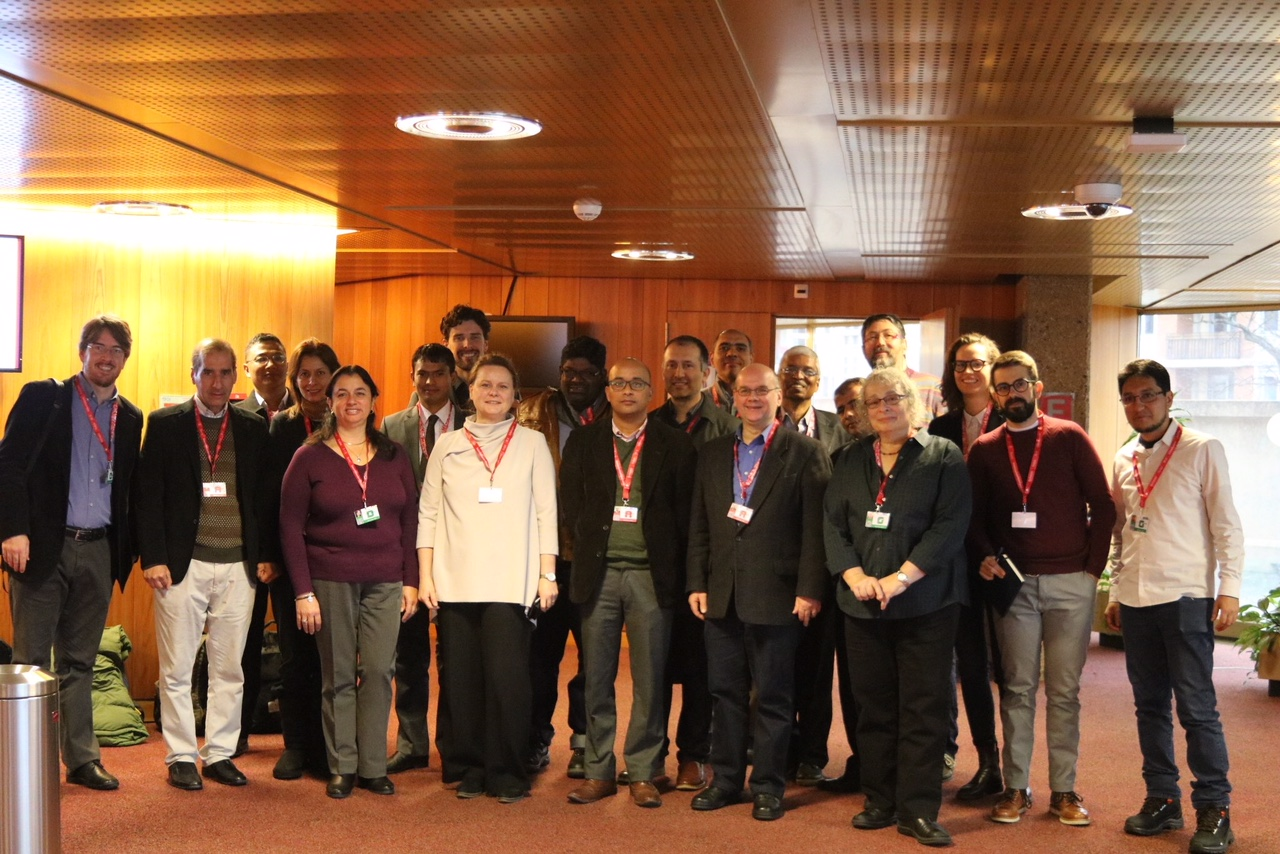 Founding of the DC SIG 2017 in Geneva.